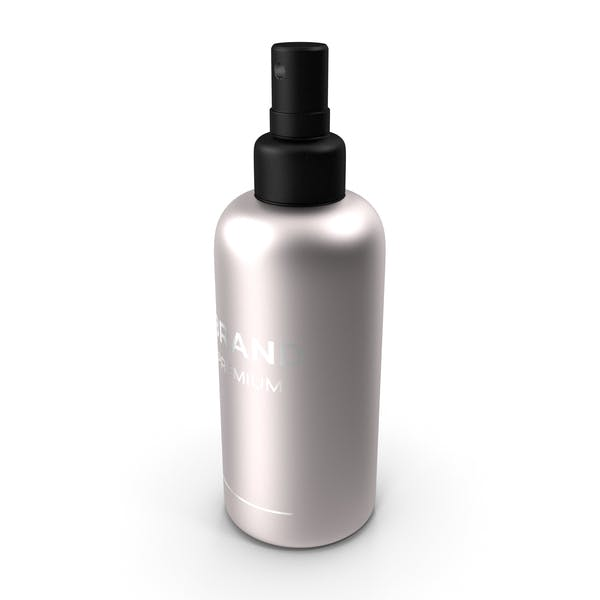 Black Cosmetic Spray Bottle