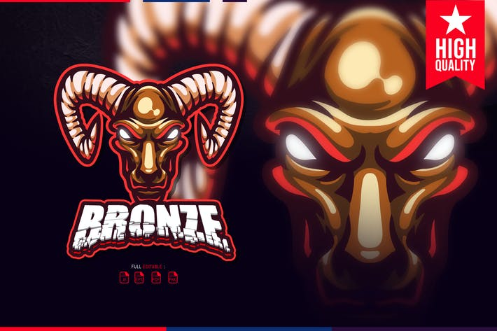 Bronze Esport Logo