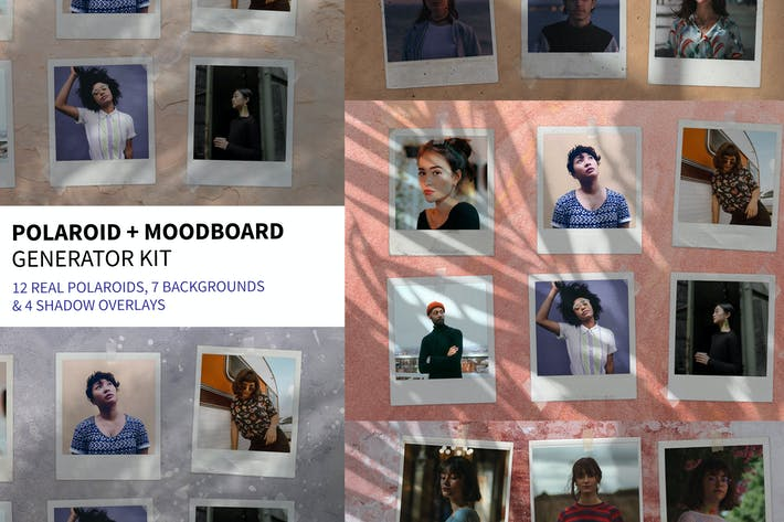 Thumbnail for Polaroid & Moodboard Generador Kit
