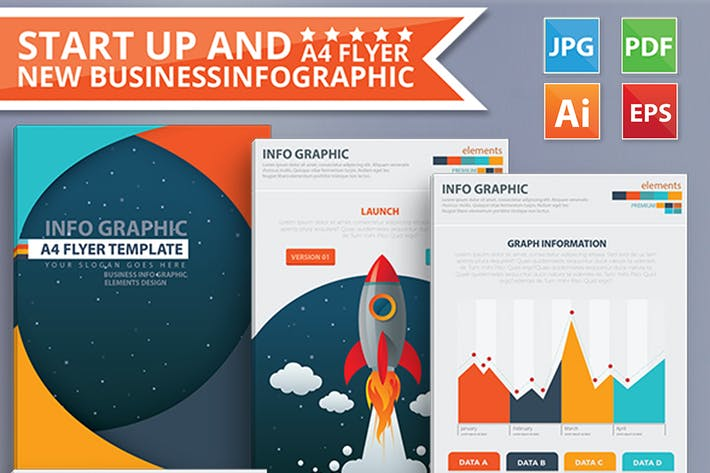Thumbnail for Start Up & New Business infographic 17 Pages