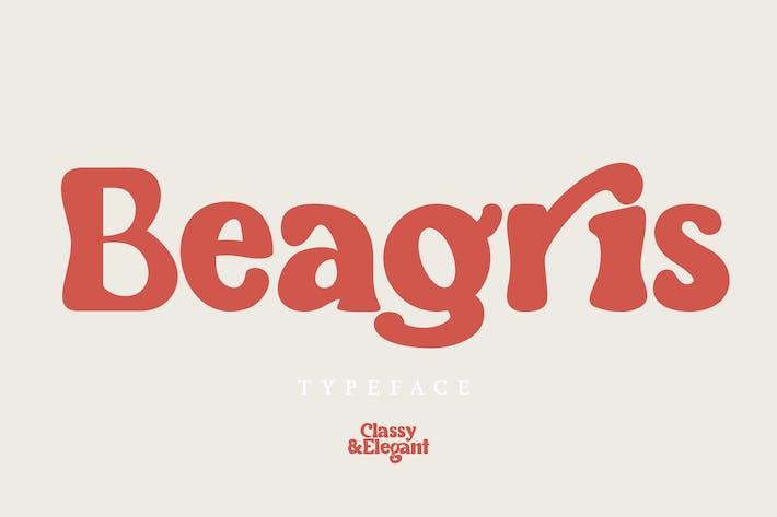 Thumbnail for Beagris - Typeface