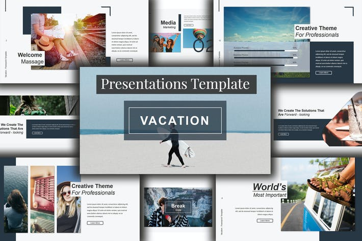 vacation powerpoint template by putra khan on envato elements