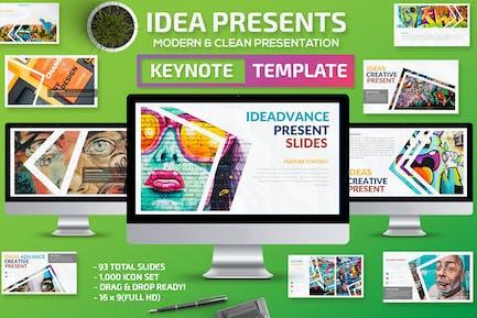 Idea Keynote Presentation