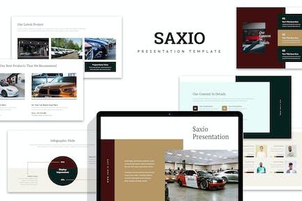 Saxio : Car Dealer Powerpoint