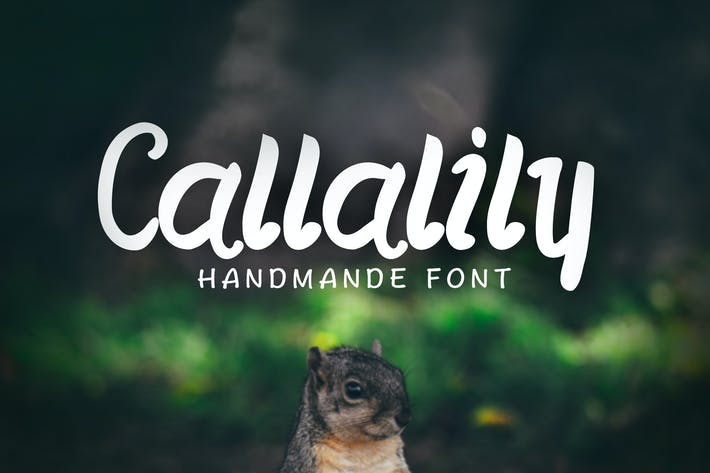 Thumbnail for Callalily Typeface