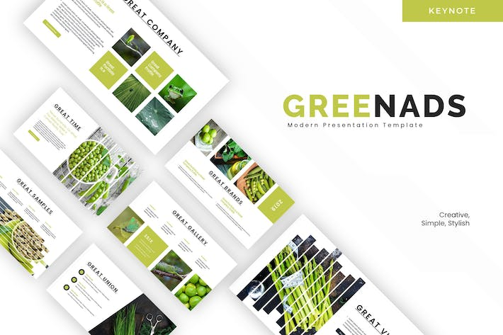 Thumbnail for Greenads - Keynote Template