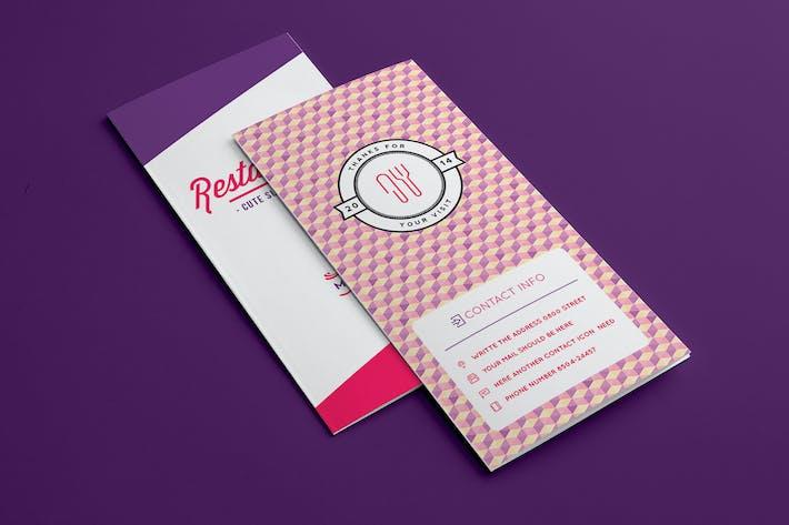 Thumbnail for Design Food Menu 2 Illustrator Template