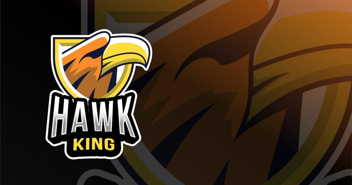 Download Hawk King Esport Logo Template by IanMikraz