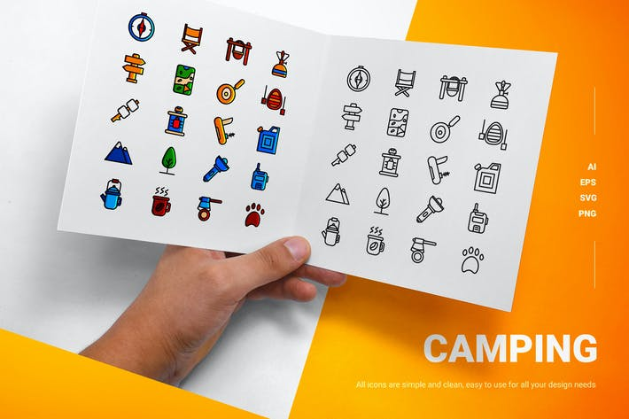 Camping - Icons