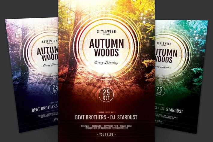 Thumbnail for Autumn Woods Flyer