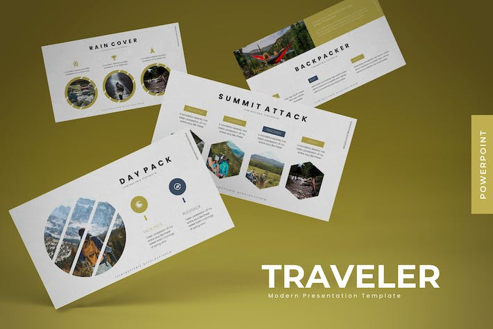 Thumbnail for Traveler - Powerpoint Template
