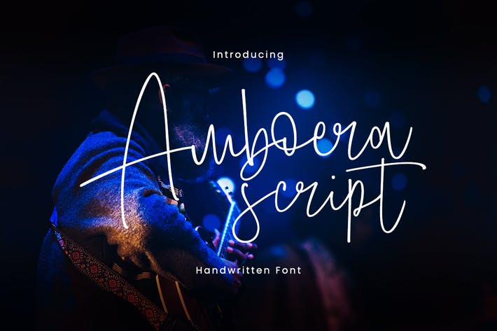 Thumbnail for Amboera Script Font
