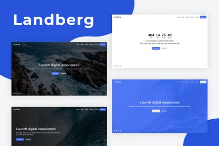 Landberg - Coming Soon Template