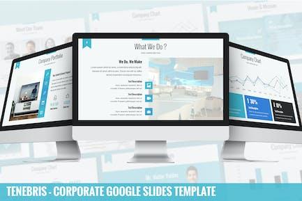 Tenebris - Corporate Google Slides Template