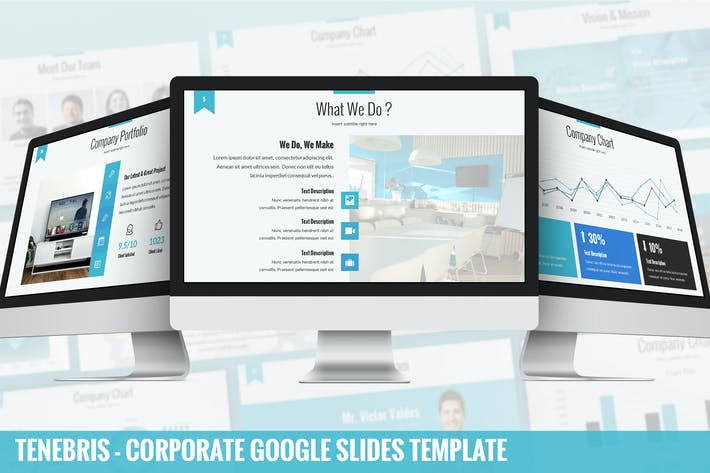 Thumbnail for Tenebris - Corporate Google Slides Template