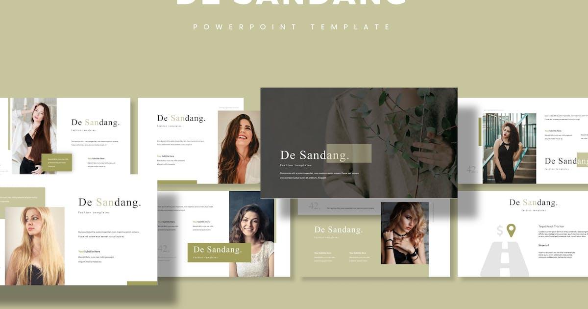Download De Sandang - Powerpoint Template by aqrstudio
