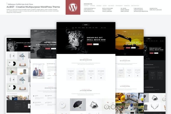 Thumbnail for ALBIST - Creative Multipurpose WordPress Theme