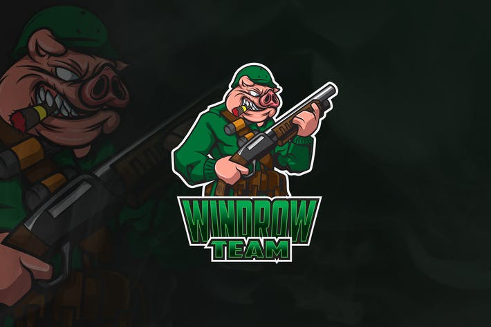 Thumbnail for Windrow - Mascot & Esport Logo