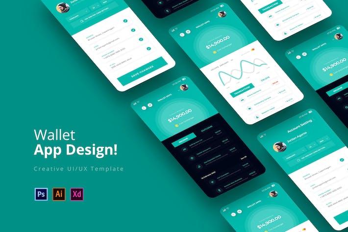 Thumbnail for WalletApps App Design