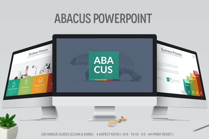 Thumbnail for Abacus - Multipurpose Powerpoint
