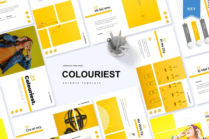 Thumbnail for Colouriest | Keynote Template
