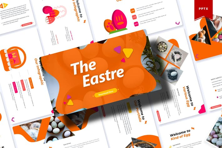 Thumbnail for The Eastre | Powerpoint Template