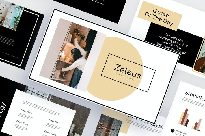 Thumbnail for Zeleus - Interiors Keynote Template