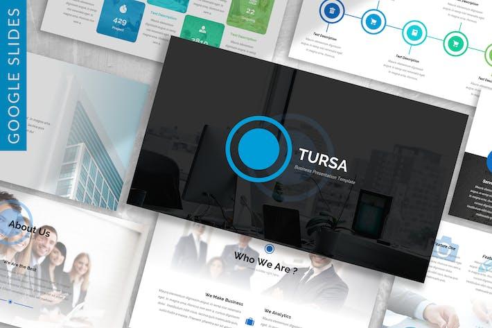 Thumbnail for Tursa - Business Google Slides Template