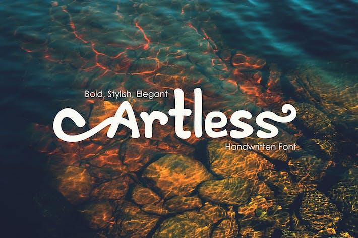 Thumbnail for Artless - Handwritten Font