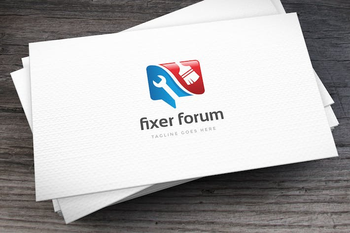 Thumbnail for Fixer Forum Logo Template