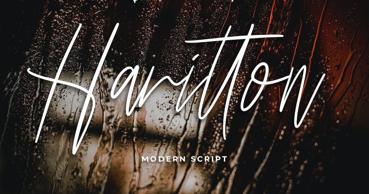 Download Harritton Modern Script Font by Formatika