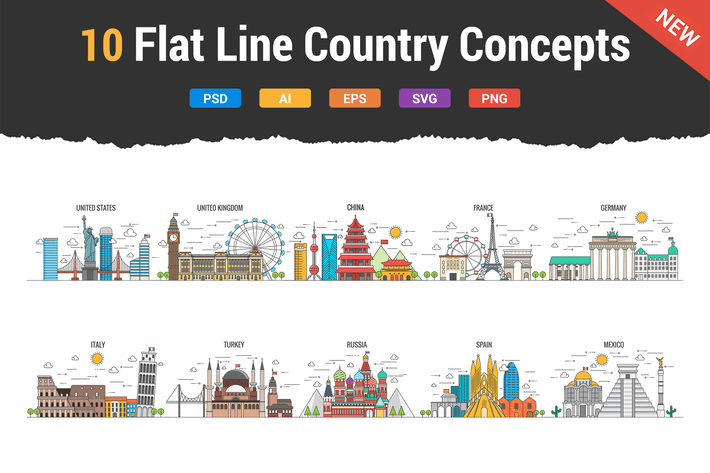 Thumbnail for 10 Flat Line Country Concepts