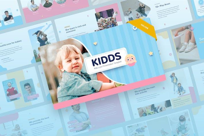 Kidds - Kids & Baby Google Slides Presentation