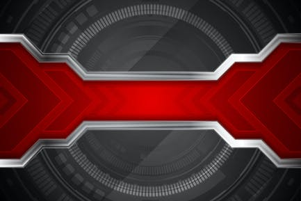 Technology abstract background with gear shape