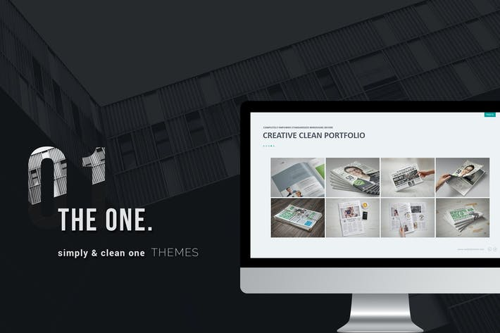 Thumbnail for The One Clean Business Template