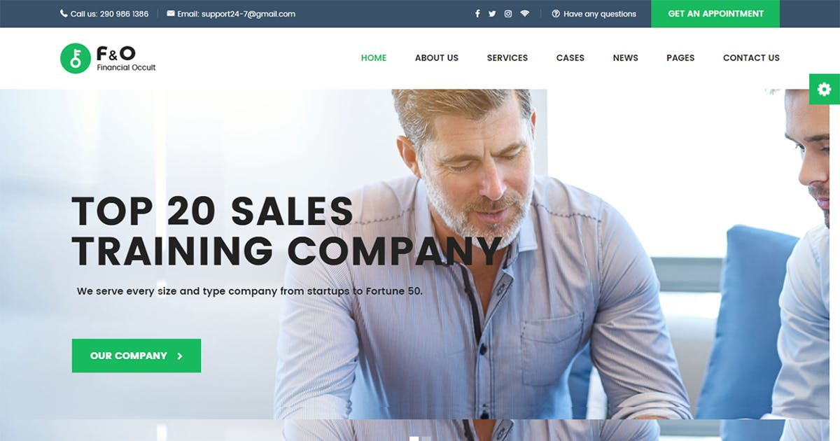 Download F&O - Consultant Finance WordPress Theme by themesflat