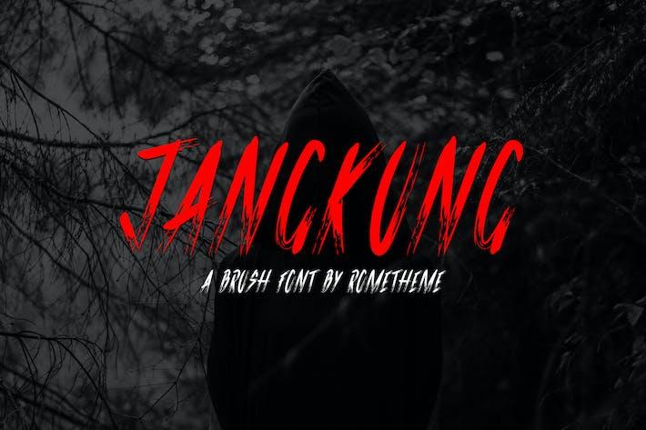 Thumbnail for Jangkung - Brush Font DR