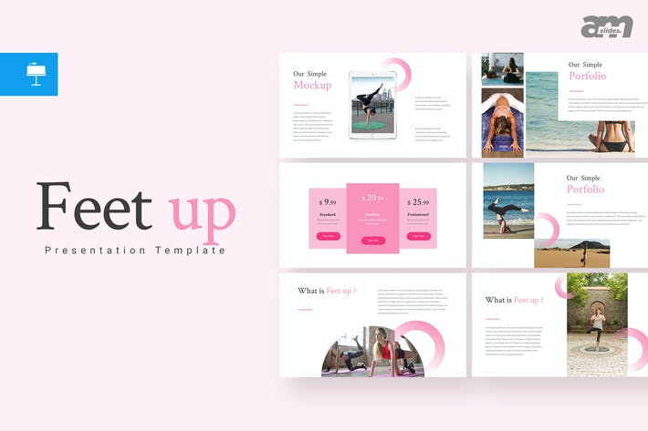 Thumbnail for Feet up Keynote Template