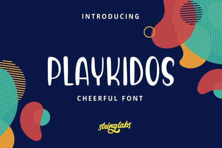 Thumbnail for Playkidos - Playful Font