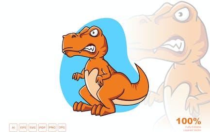 T-Rex Cartoon Design