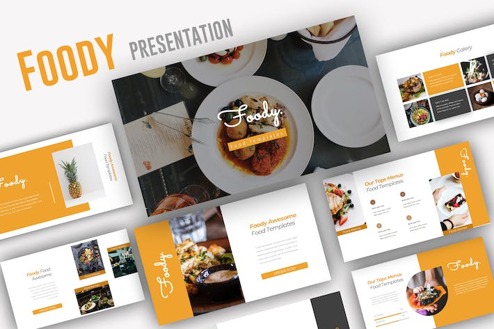 Cover Image For Foody Powerpoint