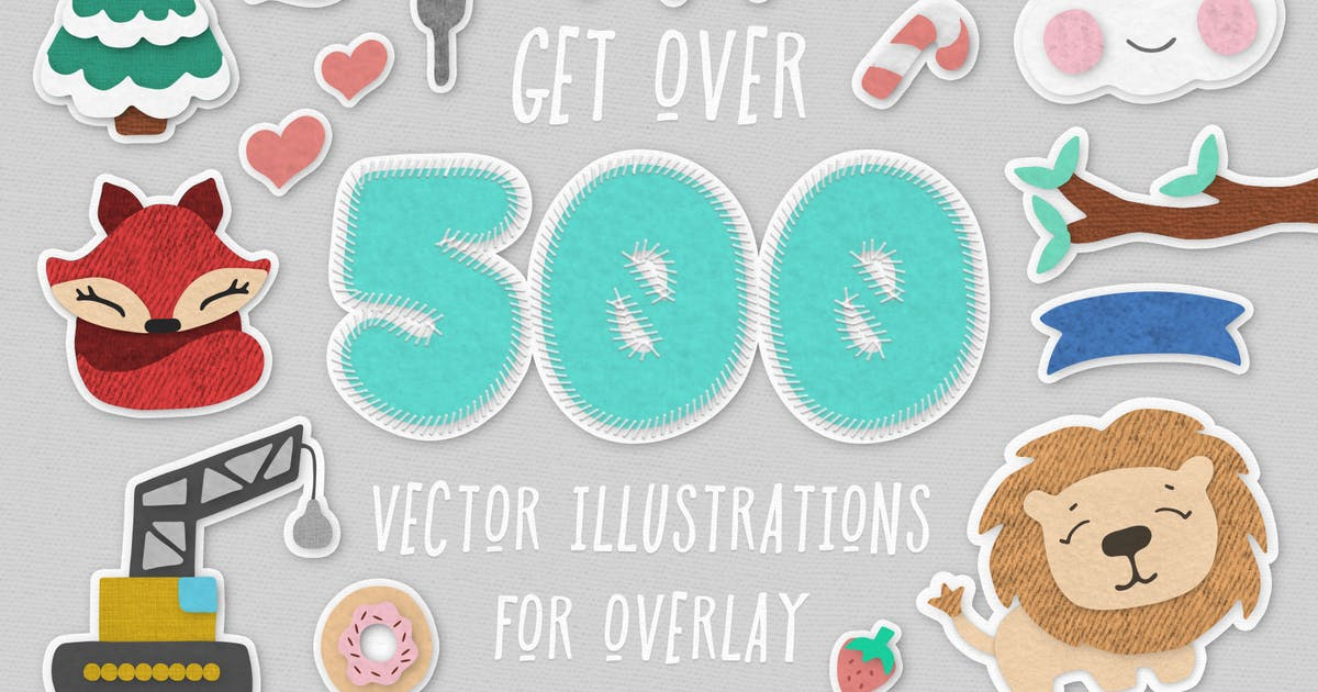 Download 500+ Vector Illustrations Pack by Unknow