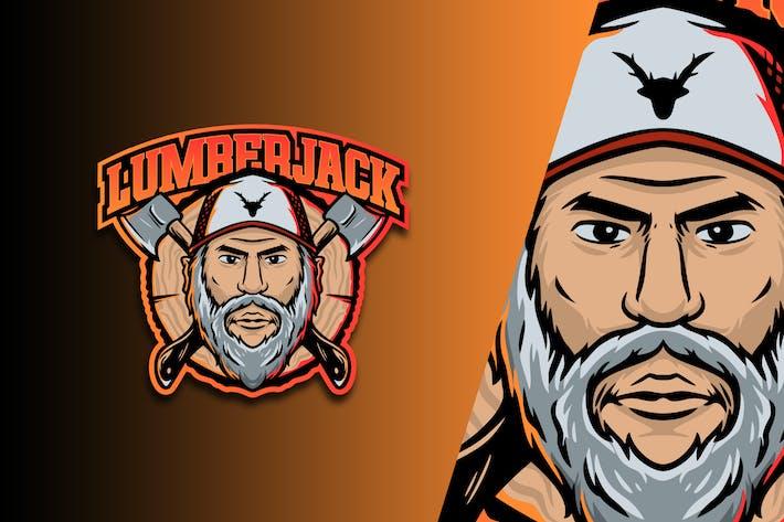 Lumber Jack Esport Logo Vol. 4
