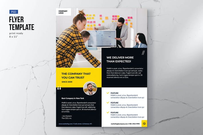 Thumbnail for Modern Business Flyer Template