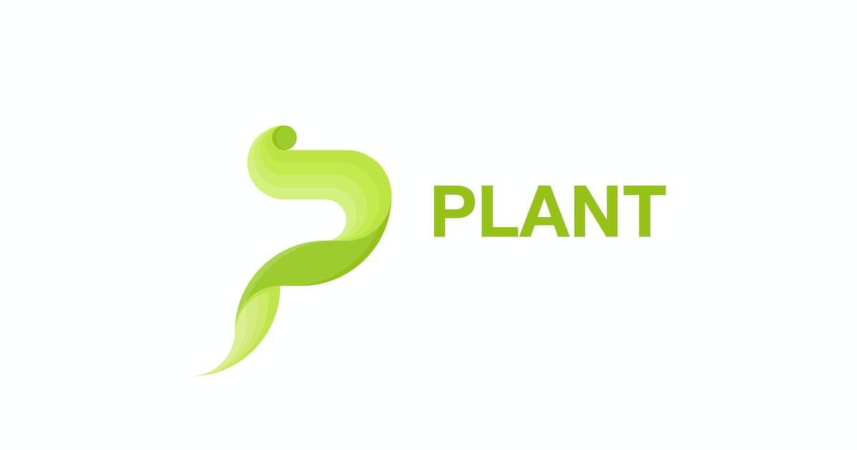 Plant P Letter by lastspark