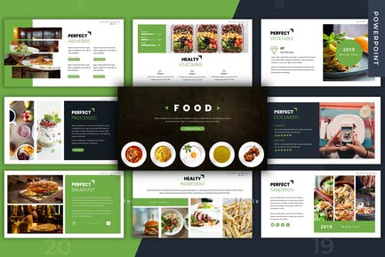 Food - Powerpoint Template