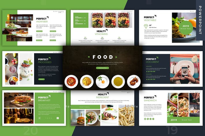 Thumbnail for Food - Powerpoint Template