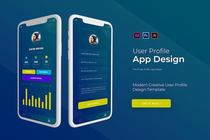 Benutzerprofil | App Vorlage