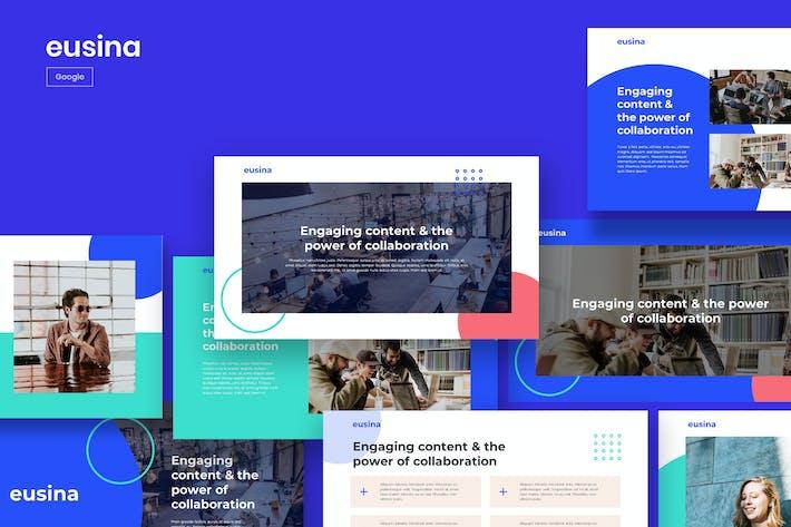 Thumbnail for EUSIN - Корпоративный Тема Google Слайды
