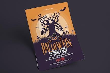 Halloween Flyer - Costume Party